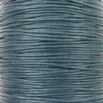 Wax cotton 0.6mm - Charcoal Grey (one metre)